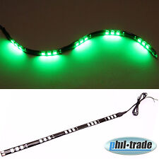 Grüne LED- Leiste Balken Lichtleiste 12V 30cm -15 x 5050 SMD- selbstklebend GRÜN