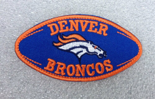 Denver Broncos Embroidered Iron On Patch.