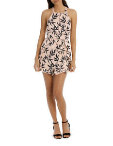 NEW-Milk-amp-Honey-Sexy-Back-Playsuit-Playsuit-Assorted