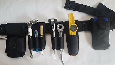 New Scaffolding Nylon Multi 7 Pockets Spanner Level Plier Pouch Holder