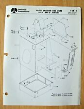 Rockwell Enclosed Steel Stand For 4 6 Jointers Illustrated Parts List J 2b 2