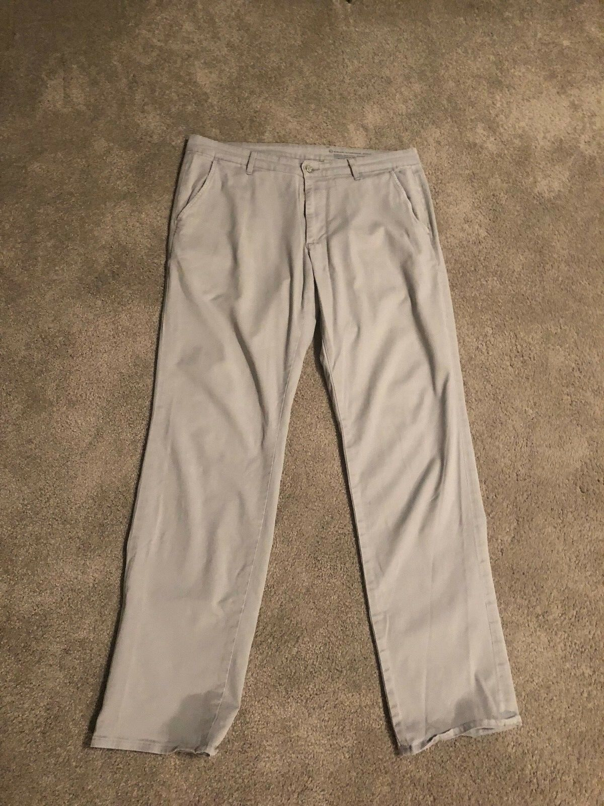 Men's AG Supply Adriano goldschmied Khaki Pants Slim 34 x 34 Grey