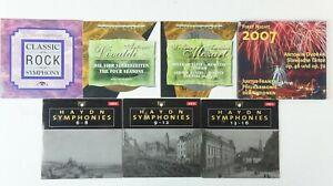 7-CD-CLASSIC-ROCK-quatre-saisons-Mozart-First-Night-2007-Haydn-Symphon-k-658