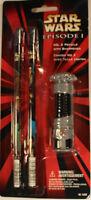 Star Wars Episode I - No. 2 Pencils With Sharpener - 1999 Pentech - Set 16202