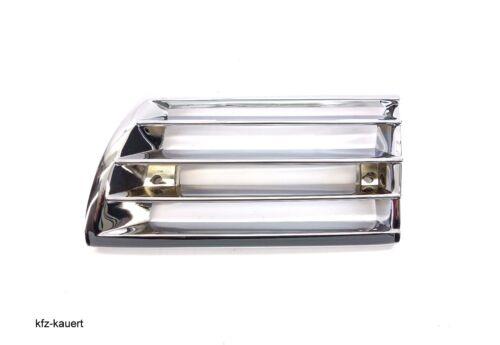 JP klaxons horngitter chrome gauche convient pour 911 69-72 Porsche grille