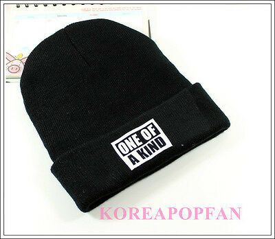 G-DRAGON GD ONE OF A KIND BIGBANG BLACK KPOP CAP HATS NEW