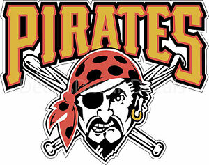 Pittsburgh Pirates Logo Decal Sticker For Car Truck
