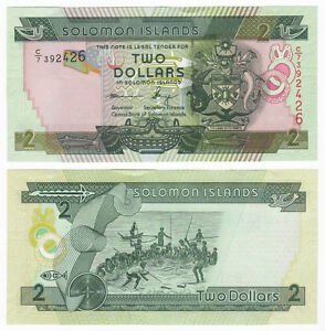 SOLOMON  ISLANDS 50 DOLLARS 1986  Prefix B//1   P 17  Uncirculated