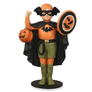 Bethany-Lowe-Bat-Boy-Child-Superhero-Retro-Vntg-Style-Halloween-Figurine-Decor