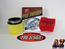 Pro Design Flow Adapter Air Filter Cleaner Suzuki LTR450 LTR 450 LT R450 PD252