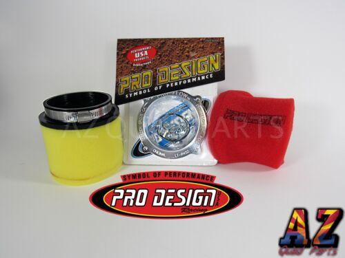 Suzuki LTR450 LTR 450 Pro Design Pro Flow Foam Air Filter Intake Box Kit UNI