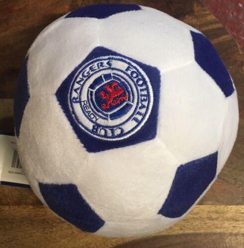 RANGERS F.C SMALL SOFT BALL OFFICIAL MERCHANDISE BLUE WHITE PLUSH