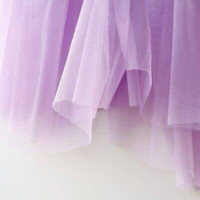 Lilas Pastel Violet Clair Soft tulle voile tissu 150 cm Large par le mètre