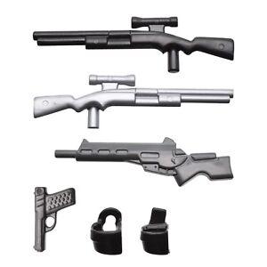 playmobil-Polizei-Scharfschuetzengewehr-Maschinengewehr-Pistole-Halfter