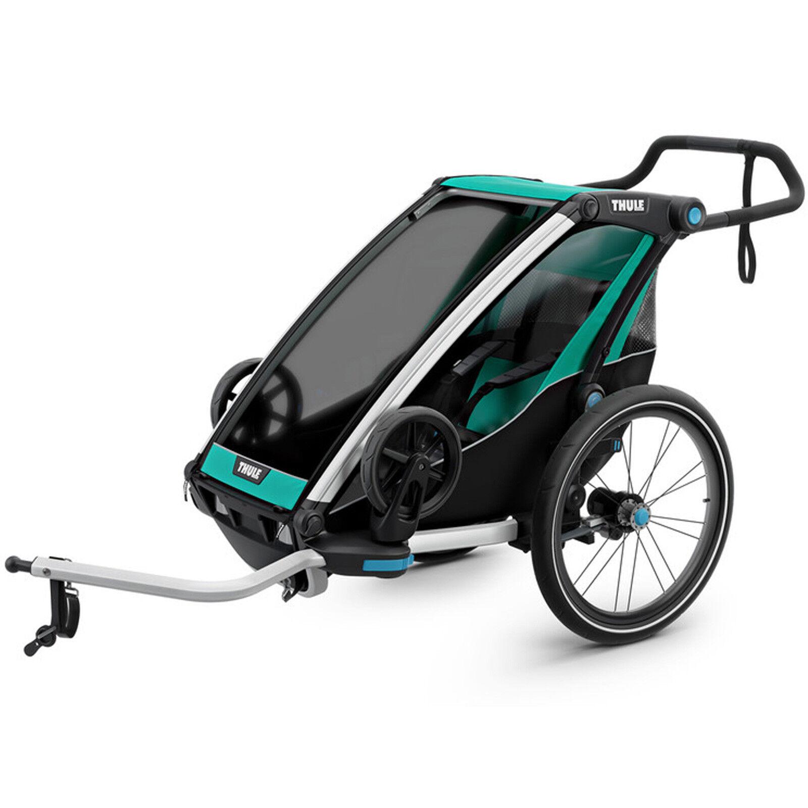 Thule Cocheiot Lite 1 remolque, bicicleta infantil de suspensión