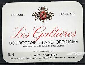 Bourgogne New Réf.n°86 Mercurey Never Stuck Etiquette de Vin