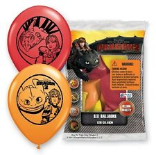How to Train Your Dragon ~ (6) Latex Helium Balloons ~ Birthday Party Decoration