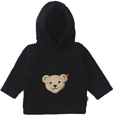 "62-104 Basic NEU! STEIFF® Fleece Sweatshirt Pullover Marine /""Quietsch Bär/"" Gr"