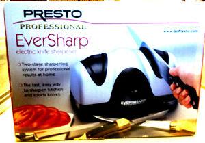 Presto Eversharp Kitchen Electric Knife Sharpener