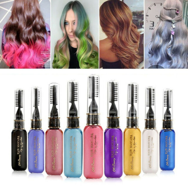 Unisex One-time Hair Color DIY Wax Dye Comb Cream Pen Tools Multi-color New