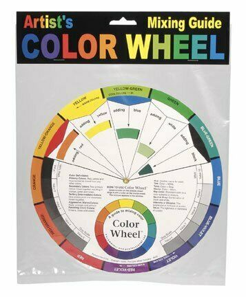 Artist Color Wheel Mixing Guide Color Wheels Large
