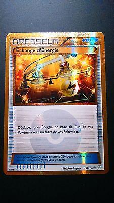 Echange d/'Energie Secret-XY6:Ciel Rugissant-109//108-Carte Pokemon Neuv Française