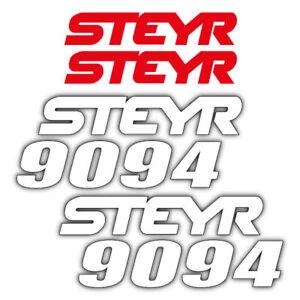 decal aufkleber adesivo sticker set Steyr 8115 1999