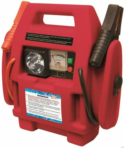 Lumière DEL Neuf 12 V Rechargeable Voiture Van Batterie Jump Starter Power Pack
