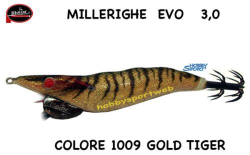 TOTANARA MOLIX MILLERIGHE SERIE EVO MIS 3,0  COL  1009 GOLD TIGER