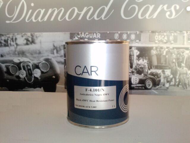 Peinture carrosserie: 0,5 litre de laque Haute Température 450°C + 250ml diluant