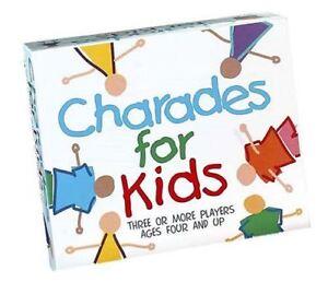 Paul Lamond Charades Pour Enfants Famille Board Photo Jeu  </span>