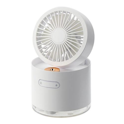 Portable USB Mini Fan Fan Air Cooler Mist Humidifier 3 Speeds w//300ml Water Tank