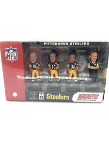 Pittsburgh-Steelers-Magnetic-Mini-Bobs-STEELERS-FoCo-MINI-BOBBLE-SET-DSPLY-PLATE