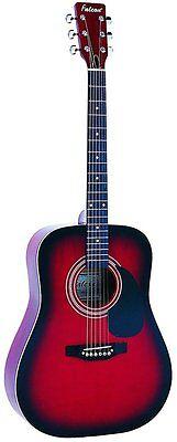 Redburst Loyal Falcon Fg100r Brandneu Fine Workmanship Dreadnought Akustische Gitarre