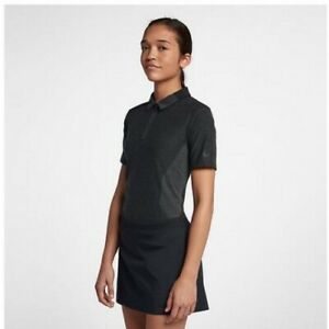 New-Nike-Golf-Zonal-Cooling-Dri-Fit-Women-039-s-Size-Small-Polo-Shirt-929505-451