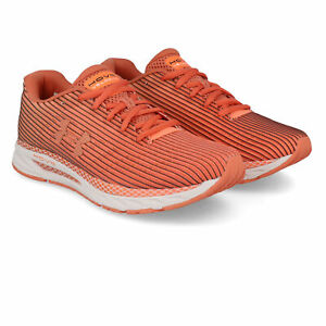 Under-Armour-Femme-HOVR-velociti-2-Chaussures-De-Course-Baskets-Sneakers-Orange