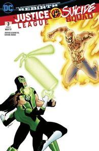 JUSTICE-LEAGUE-VS-SUICIDE-SQUAD-deutsch-1-2-3-VARIANT-Wonder-Woman-Harley-Lobo