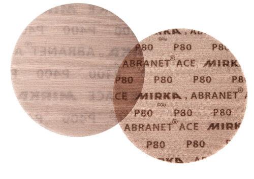 Mirka velcro disques schleifnetz Abranet ACE 77 mm ve 50 pièces par grain