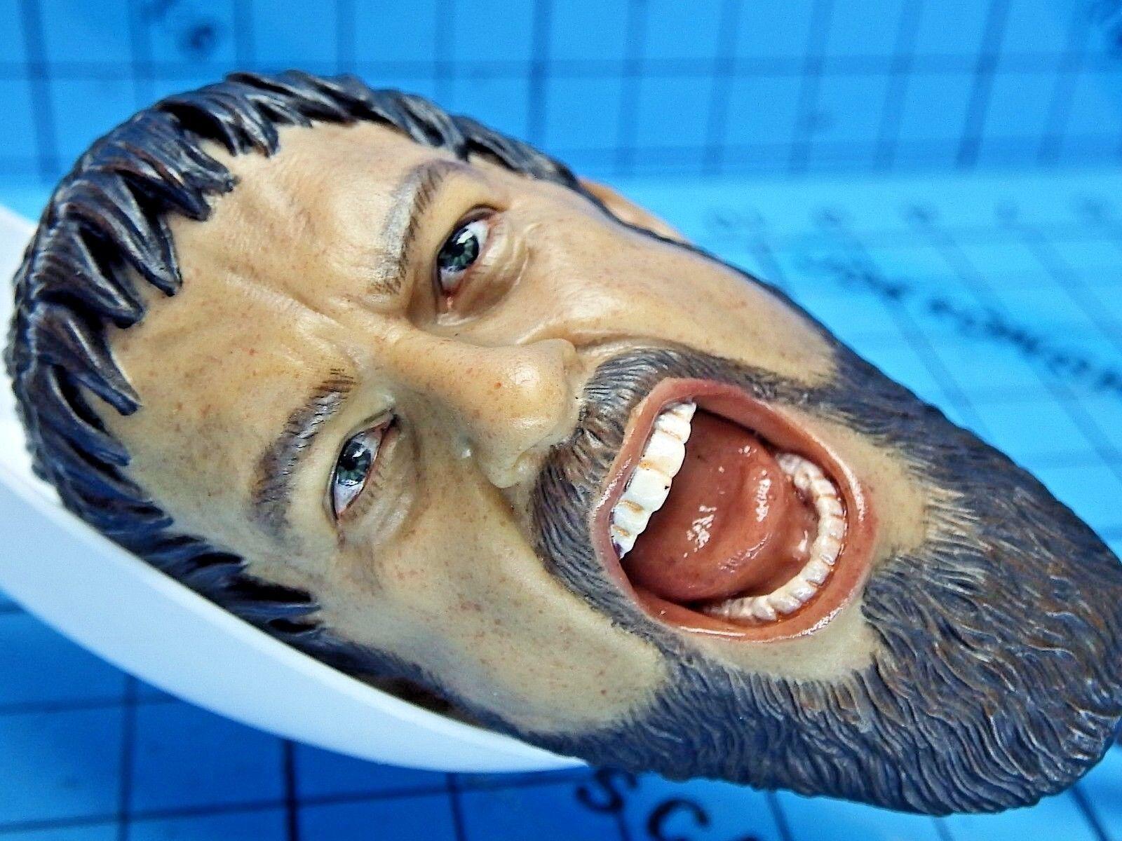 Star Ace Toys 1 6 SA0030 King Leonidas 300 Figure - Fierce Ponytail Head Sculpt