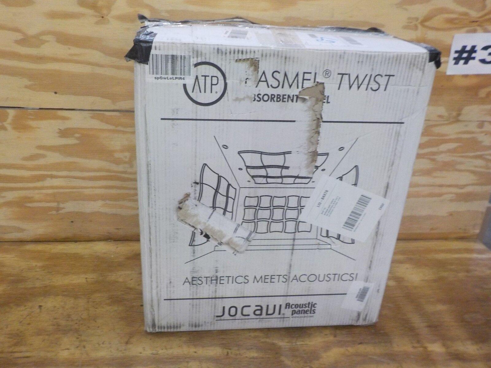 JOCAVI Akustische Panels Basmel Twist Acoustic Foam Sound Absorbing Panel mit Rot