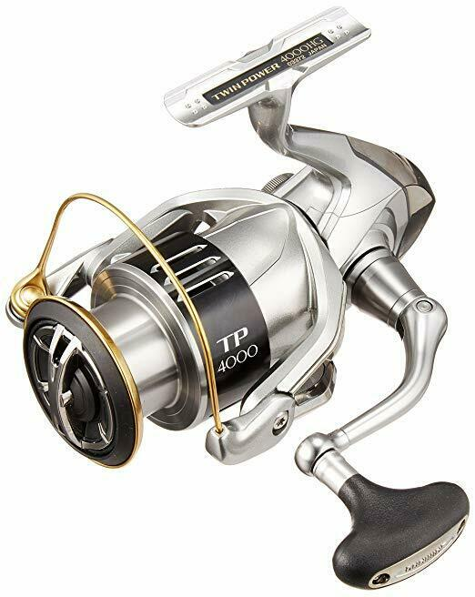 Shimano (Shimano) spinning  reel 15 twin power 4000HG Japan Import  best service