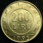 1995 Repubblica Italiana 200 lire