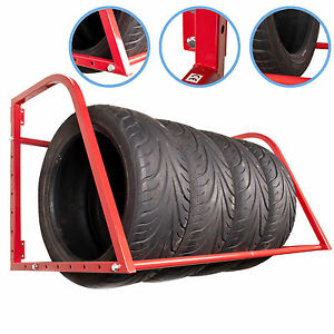 WALL-MOUNT-MOUNTED-MOTORSPORT-GARAGE-WHEEL-TYRE-STORAGE-RACK-STAND-RACKING-SHELF