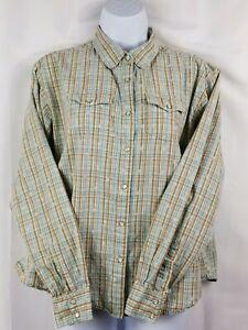 Aura-Wrangler-Women-039-s-Size-XL-Pearl-Snap-Button-Down-Shirt-Western-Long-Sleeve