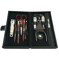 2-Pack: RC Collection Deluxe 10 Piece Manicure Set with Carrying Case