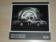 47486) Mini Cooper S 50 Mayfair & Camden Prospekt 2009