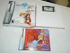 Sword of Mana (Nintendo Game Boy Advance) GBA **COMPLETE ON BOX**