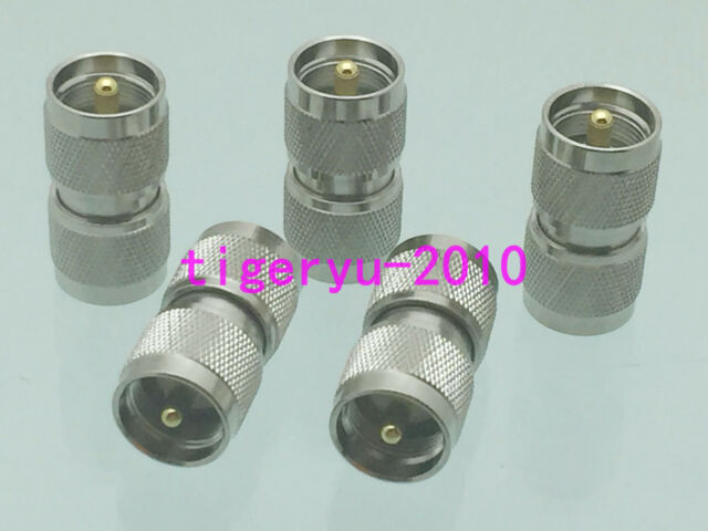 5pcs Adapter UHF PL259 male to UHF PL259 male plug RF connector coaxial