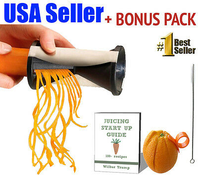 #1 Veggie Spiralizer Zucchini Noodle Vegetable Zoodle Cutter Vegetti Julienne