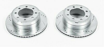 Power Stop AR85148XPR Rear Evolution Drilled /& Slotted Rotor Pair